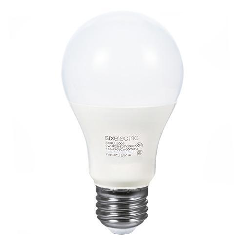 LAMP.LED BULB A60  9W E27 6000K