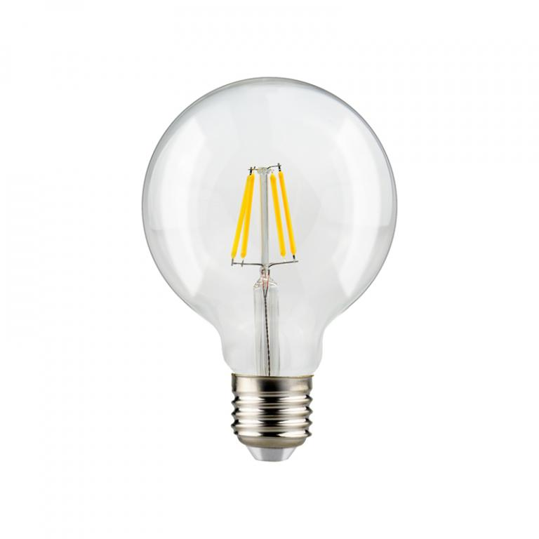 LAMP. FILAMENTO LED G95 7W DIM E27 3000K