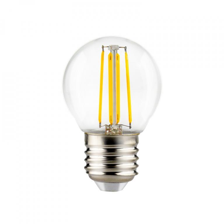 LAMP. FILAMENTO LED G45 4W DIM E27 3000K