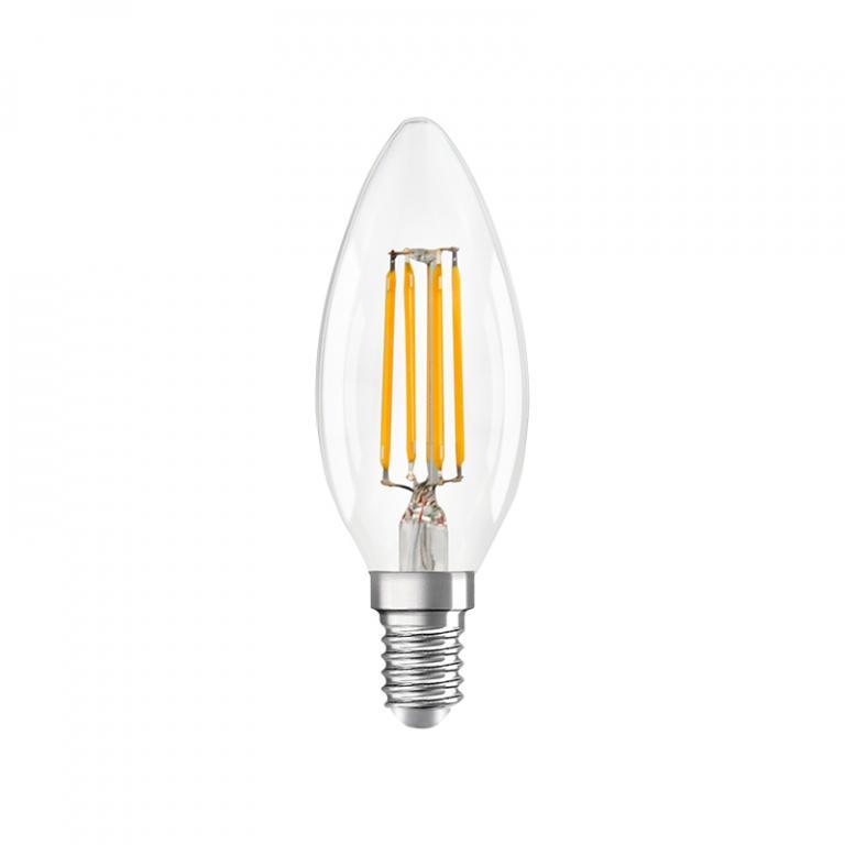 LAMP. FILAMENTO LED C35 4W DIM E14 3000K