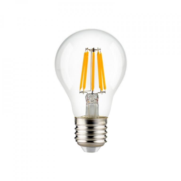 LAMP. FILAMENTO LED A60 7W DIM E27 3000K